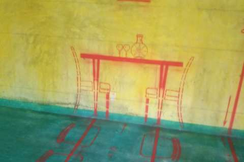 东升花园-黄墙绿地/3D全景放样-金艺堂装饰