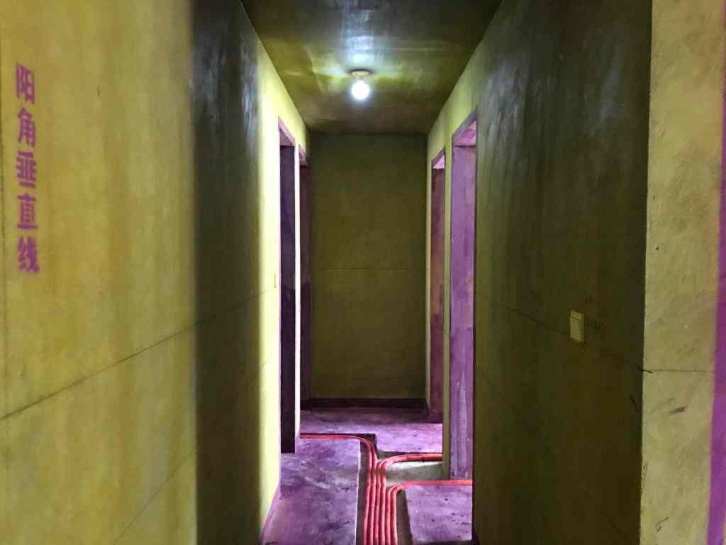 琥珀瑞安家园-黄墙紫地/3D全景放样-山水装饰