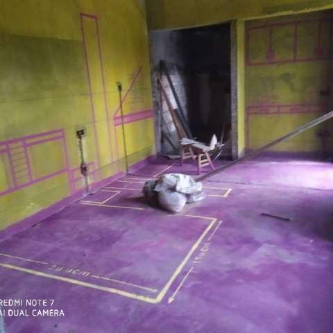 新滨湖孔雀城-黄墙紫地/3D全景放样-山水装饰