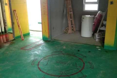 中海城-黄墙绿地/3D全景放样/成品保护-家美福装饰