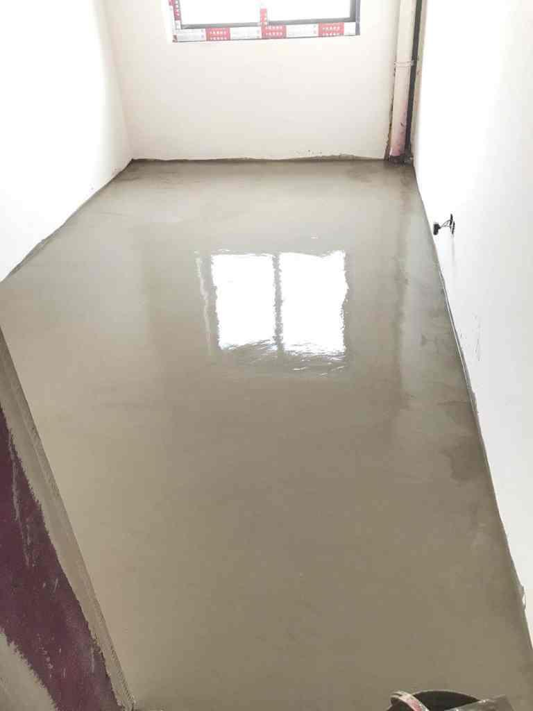 万达悦湖苑-厚层自流平施工/石膏基厚层流平砂浆