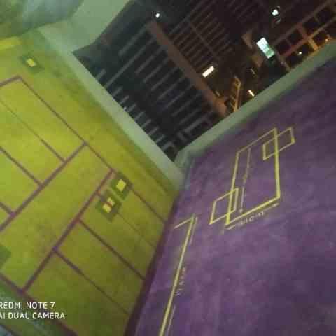 望江台-黄墙紫地/3D全景放样-山水装饰