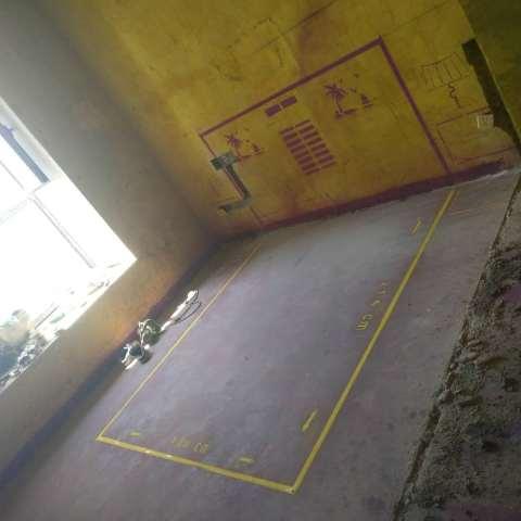 凯旋门-黄墙紫地/3D全景放样-山水装饰