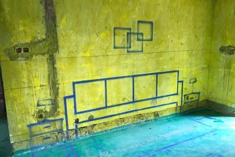 尚水湖畔森苑-黄墙绿地/3D全景放样-百度装饰