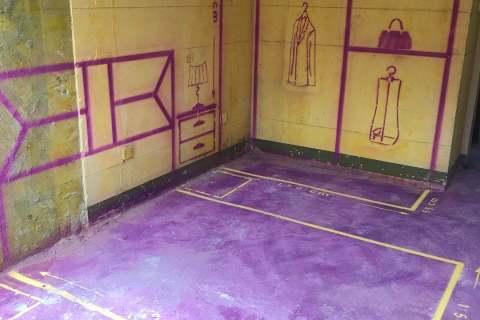 公元天下-黄墙紫地/3D全景放样-山水装饰