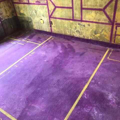 中央美域-黄墙紫地/3D全景放样-山水装饰