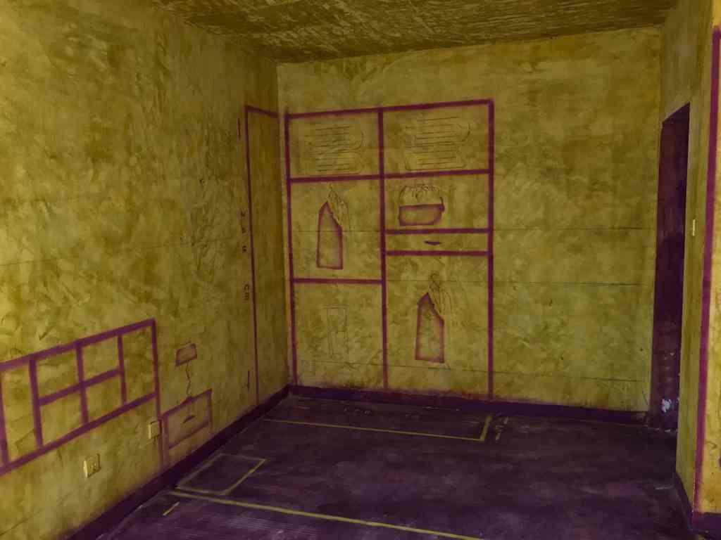陶然居-黄墙紫地/3D全景放样-山水装饰