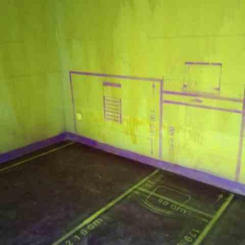中海城-黄墙紫地加放样-山水装饰