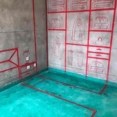 滨湖阳光里-墙固地固/3D全景放样-大维装饰