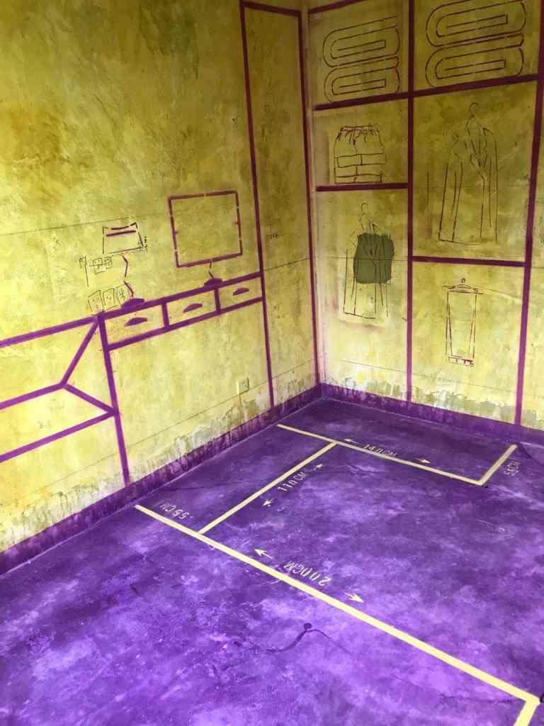兴园小区-黄墙紫地/3D全景放样-山水装饰