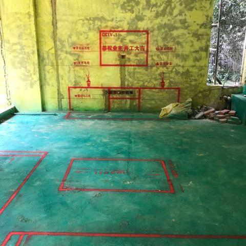 国建香榭水都-黄墙绿地/3D全景放样-华然装饰