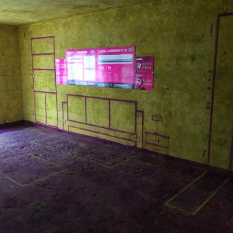 金色池塘一期-黄墙紫地/3D全景放样-山水装饰