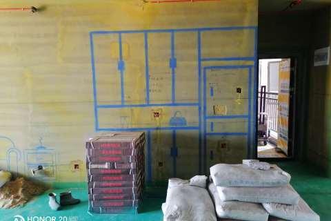 华南城-黄墙绿地/3D全景放样-百度装饰