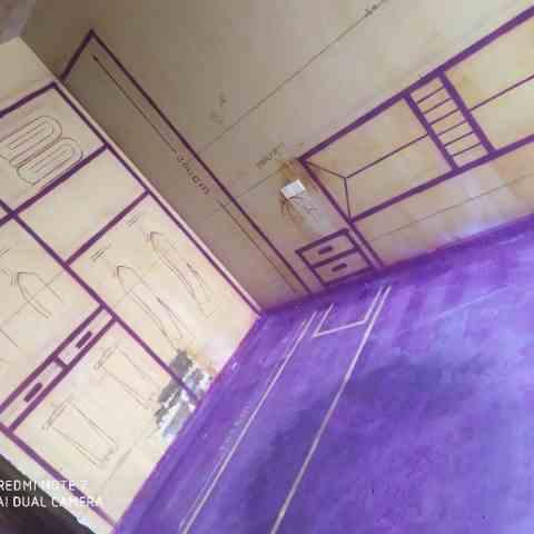 名仕豪庭-黄墙紫地/3D全景放样-山水装饰