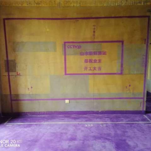 万科城市之光-黄墙紫地/3D全景放样-山水装饰