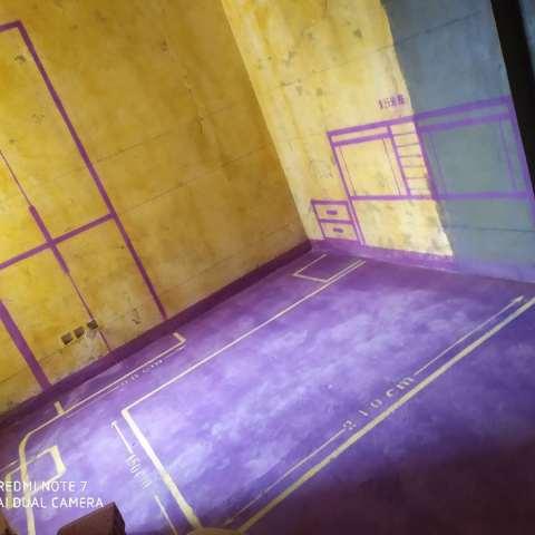 万绿园-黄墙紫地/3D全景放样-山水装饰