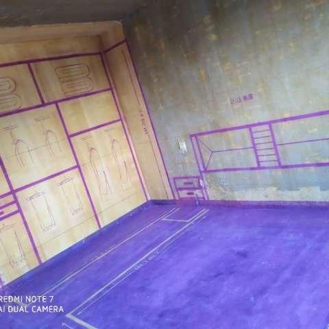 山水东苑-黄墙紫地/3D全景放样-山水装饰