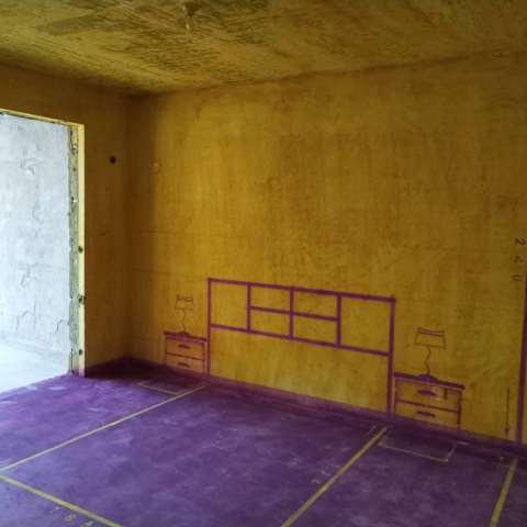 滨湖高速时代广场-黄墙紫地/3D全景放样-山水装饰
