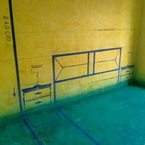 琅琊小区-黄墙绿地/3D全景放样-原味装饰