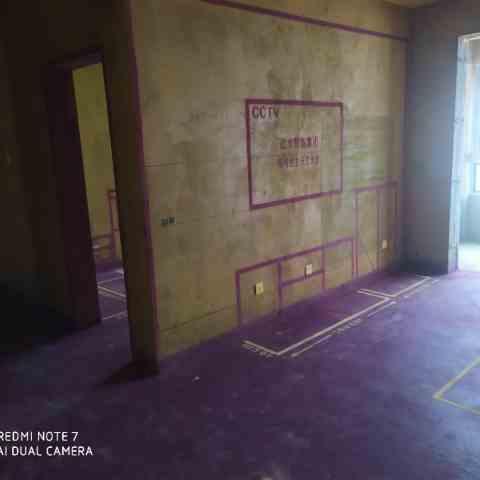 东方名邸-黄墙紫地/3D全景放样-山水装饰