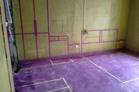 中海城-黄墙紫地/3D全景放样-山水装饰