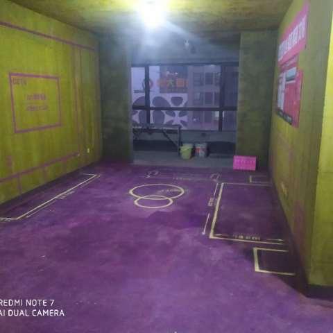 临湖苑-黄墙紫地/3D全景放样-山水装饰