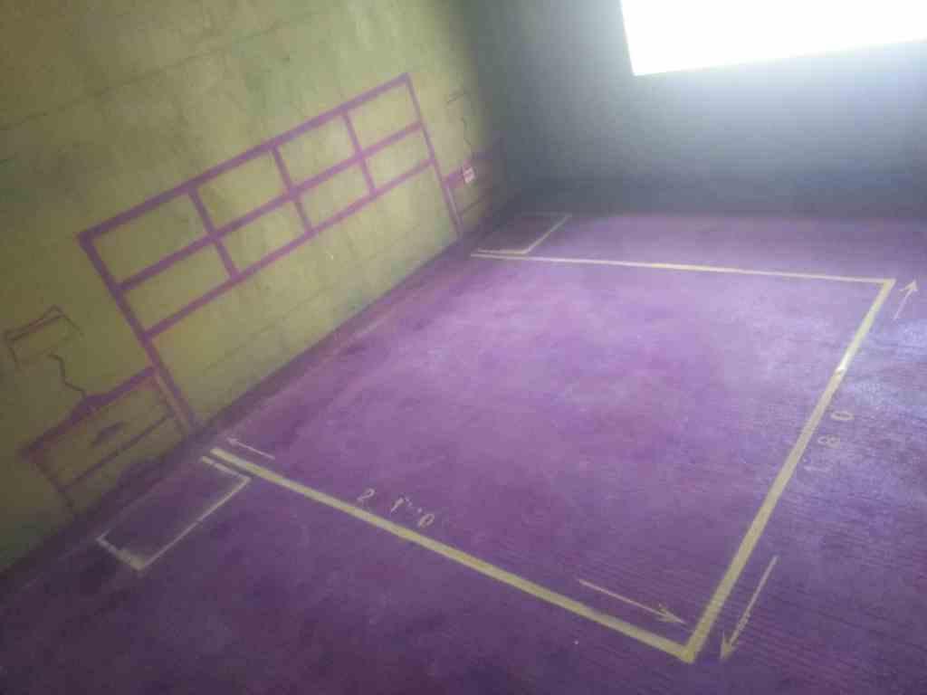 春晖里-黄墙紫地3D全景放样-山水装饰