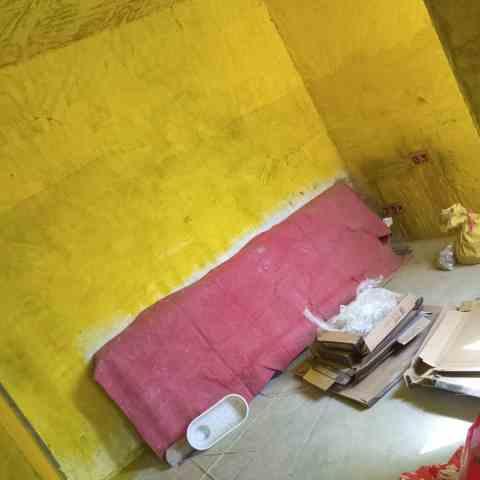 新店花园-卫生间地面防水/黄墙绿地-鼎成装饰