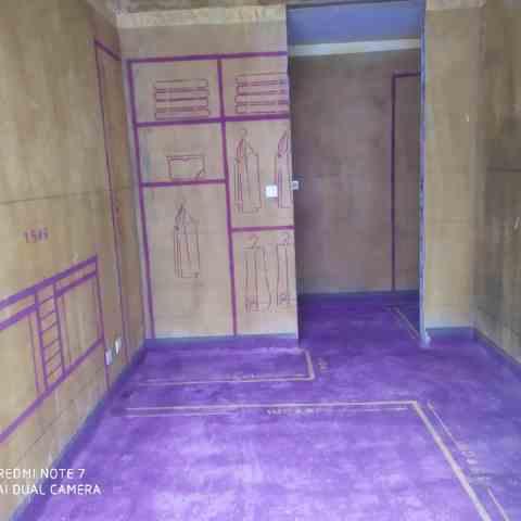 高速时代御府-黄墙紫地/3D全景放样-山水装饰