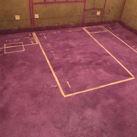 繁华里-黄墙紫地/3D全景放样-山水装饰