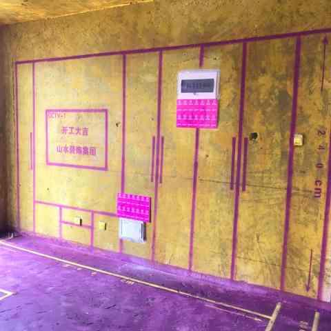 滨湖世纪城琼林苑-黄墙紫地/3D全景放样-山水装饰