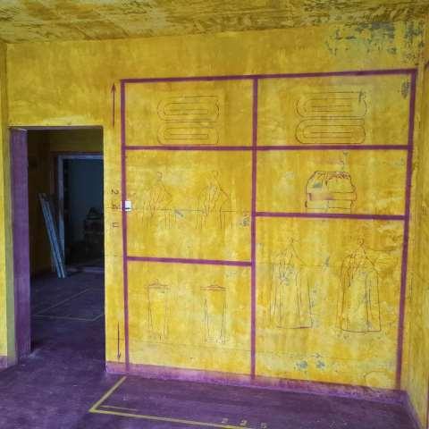 家天下二期-黄墙紫地/3D全景放样-山水装饰