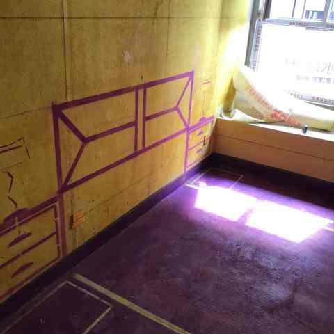 公元天下-黄墙紫地8/3D全景放样-山水装饰