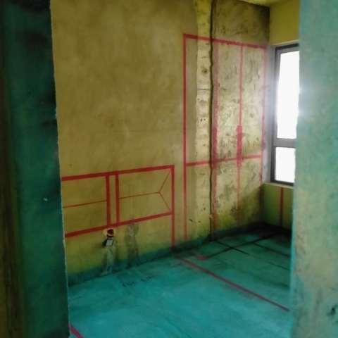 琥珀东华府-黄墙绿地/3D全景放样-维意定制