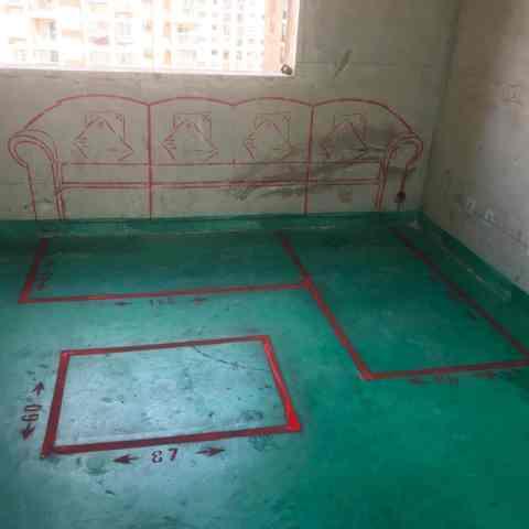 昆仑花园-地固墙固/3D全景放样-大维装饰