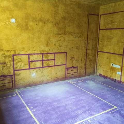 体育南村-黄墙紫地/3D全景放样-山水装饰
