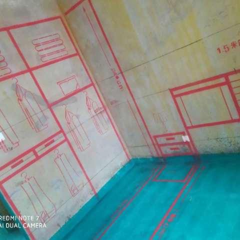 联投新安里-墙固地固/3D全景放样-大维装饰