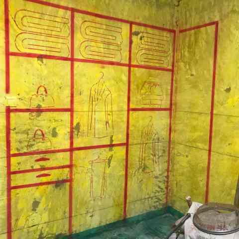 天鹅湖一号-黄墙绿地/3D全景放样/成品保护-金艺堂装饰
