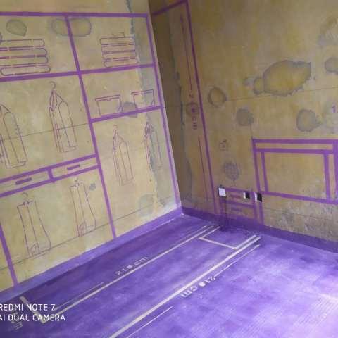 原树提香-黄墙紫地/3D全景放样-山水装饰