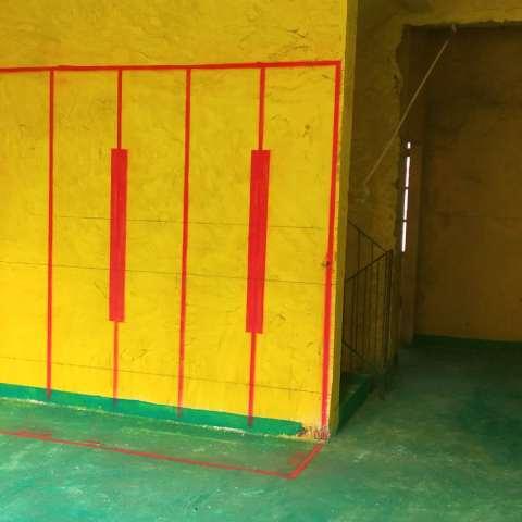 新华御湖庄园1期-黄墙绿地/3D全景放样-华然装饰