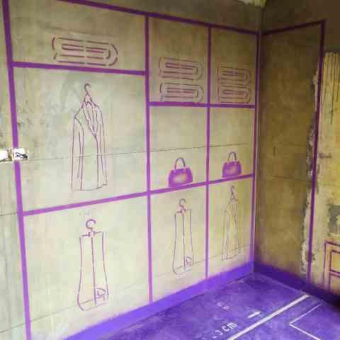 滨湖紫宸阁-黄墙紫地/3D全景放样-山水装饰