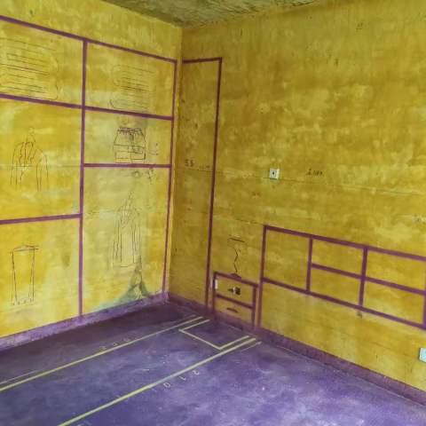 高速时代广场-黄墙紫地/3D全景放样-山水装饰