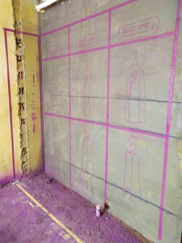 雍和府-黄墙紫地/3D全景放样-山水装饰