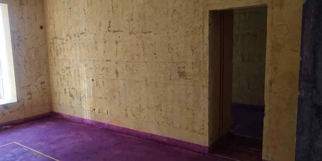 恒润花园-黄墙紫地/3D全景放样-山水装饰