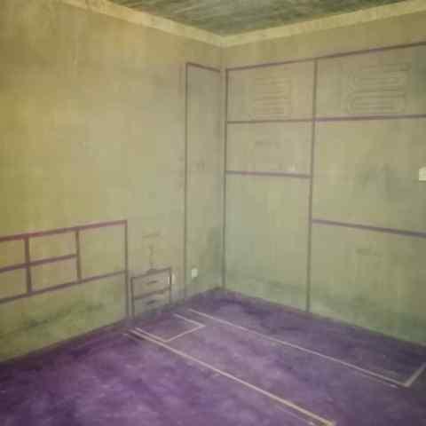 恒盛豪庭-黄墙紫地/3D全景放样-山水装饰