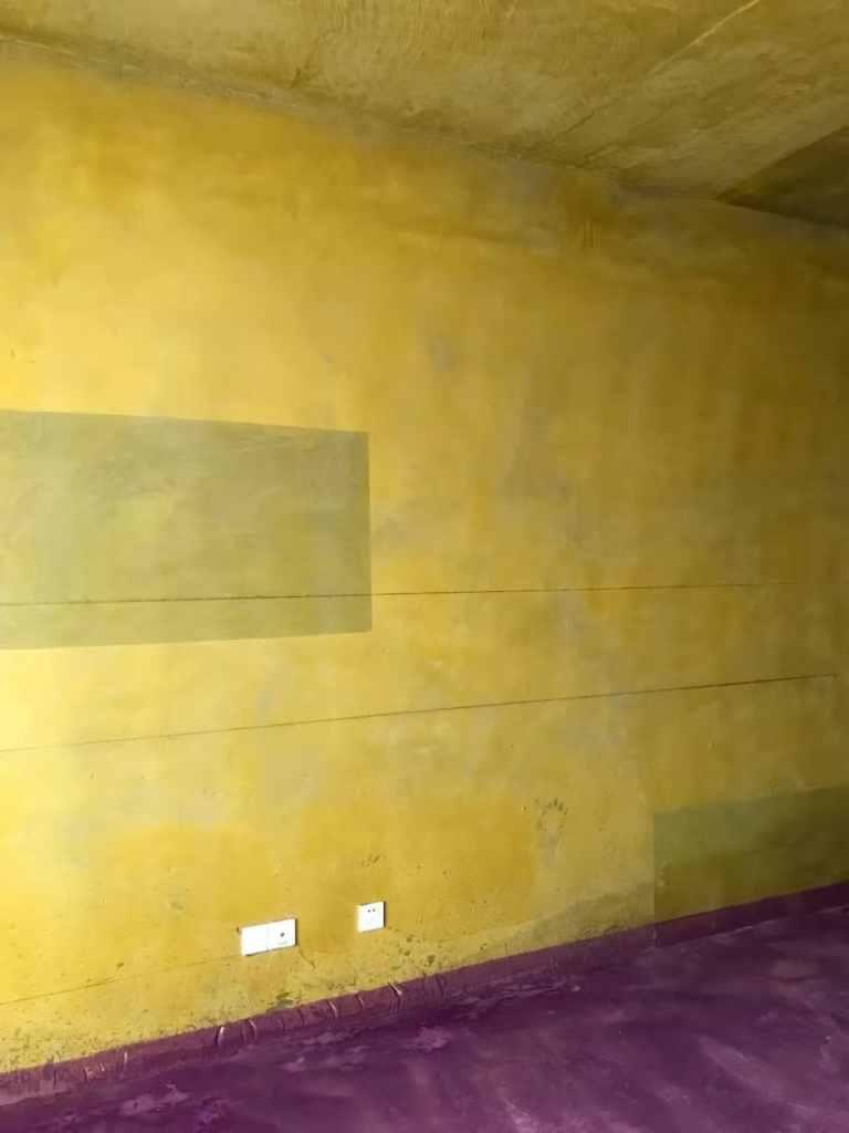 豪门金地-黄墙紫地/3D全景放样-山水装饰