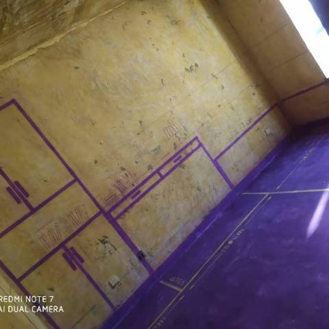 梅园公寓-黄墙紫地/3D全景放样-山水装饰