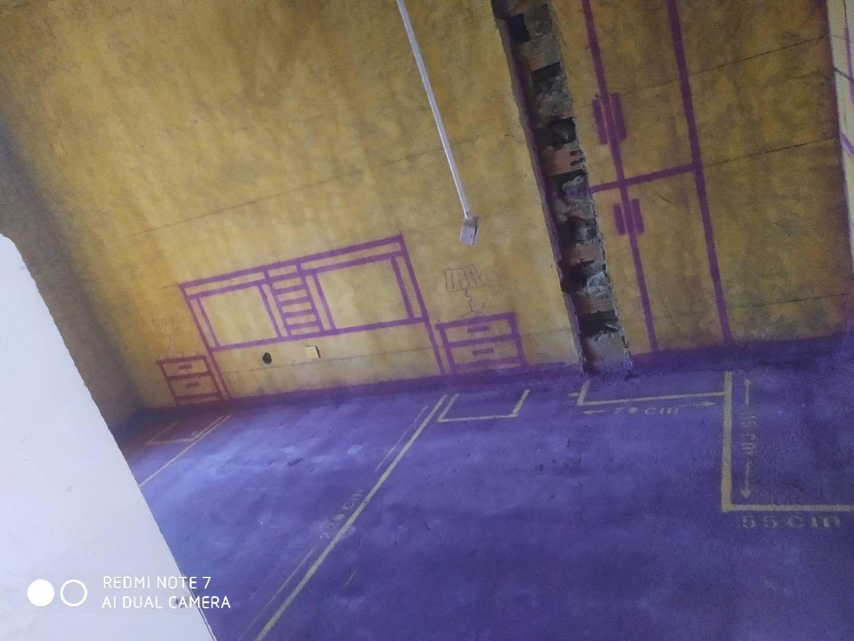 融侨观澜-黄墙紫地/3D全景放样-山水装饰