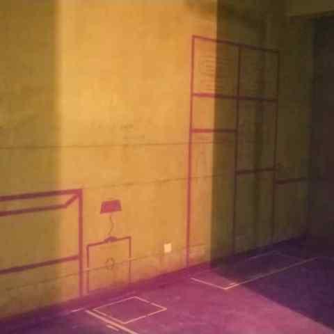 塘溪津门玉津府-黄墙紫地/3D全景放样-山水装饰