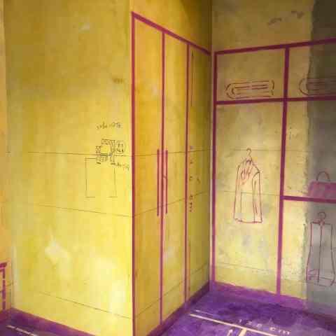 巢湖中央公馆-黄墙紫地/3D全景放样-山水装饰
